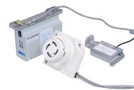 СЕРВОДВИГАТЕЛЬ ДЛЯ ОВЕРЛОКОВ 9200-серии (600W 220V,EX) (прямой привод + синхронизатор) JATI JT- F44-B3214